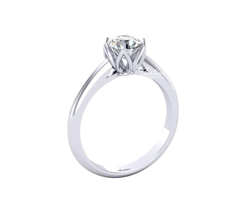 Nhẫn Nữ SOLITAIRE 19 CZ013 - 10K