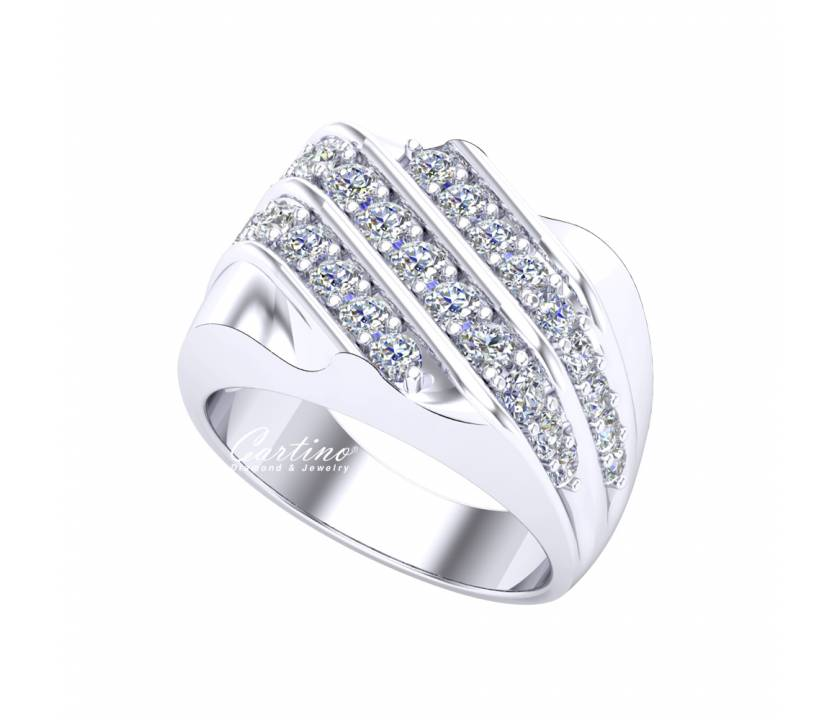 Nhẫn Nam CZ  MEN RING 22