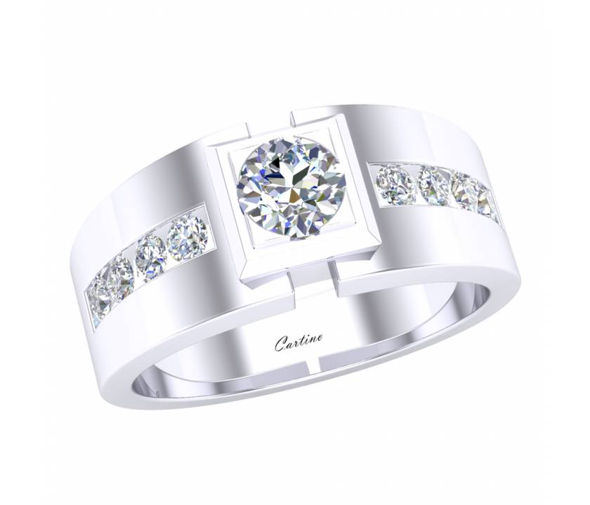 Nhẫn Nam Platinum MEN RING 5