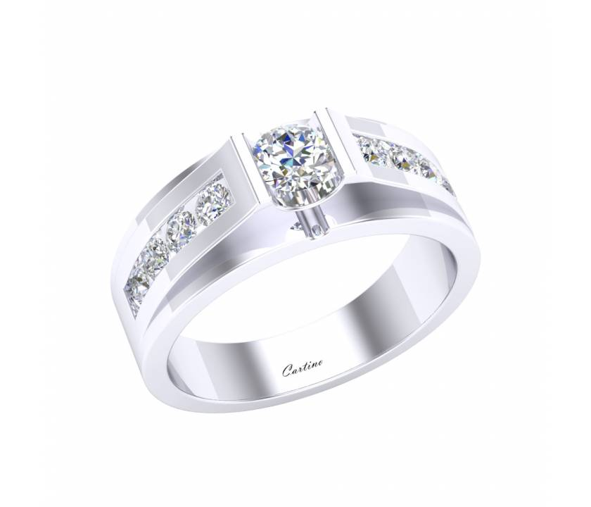 Nhẫn Nam Platinum MEN RING 6